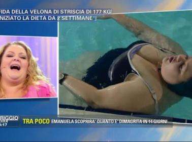 """La Velona XL: """"Perdo peso con l'acquagym"""""""