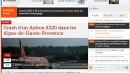 Airbus tedesco precipitato nel sud della Francia, la notizia sui siti stranieri