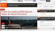 Airbus tedesco precipitato nel sud della Francia, la notizia sui...