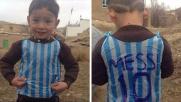 Trovato il piccolo fan di Messi che aveva commosso il web