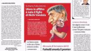 Vendola diventa papà, il web si divide: Salvini lo attacca