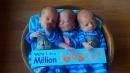 Usa, tre insieme e tutti identici: ecco il parto da un caso su un milione