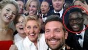 Oscar, nel selfie c'è l'intruso...