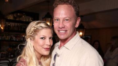 """Beverly Hills 90210"", mini reunion tra Tori Spelling e Ian Ziering"