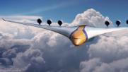 L'aereo del 2050 ha mille posti a sedere e design da favola