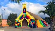 In Marocco la chiesa a colori dipinta da Okuda San Miguel