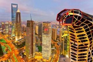 Grattacielo a forma di cobraCosì il panorama diventa unico