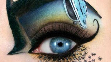 Il make up diventa arte, gli occhi dipinti da Tal Peleg