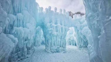 La magia dei castelli di ghiaccio di Brent Christensen