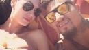 Melissa Satta e Kevin Prince Boateng, pancione sotto il sole