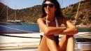 Caterina Balivo bellissima in Turchia