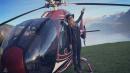 Paris Hilton al settimo cielo... il fidanzato le regala un giro in elicottero
