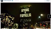 """""""Family Day"""" sul Pirellone, la risposta illuminata del Web"""