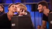 """""""Pequenos Gigantes"""", Belen e Stefano si incontrano in tv"""