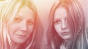 Gwyneth Paltrow, selfie con la figlia: sono due gocce d'acqua