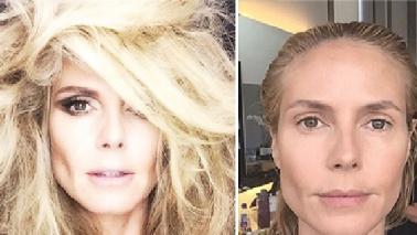 Miracolo del makeup: ecco la Klum che \
