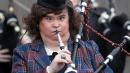 """Susan Boyle, la star di """"Britain's got Talent"""" madrina delle cornamuse"""
