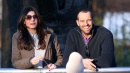 Gigi Buffon espulso, Ilaria D'Amico va al parco