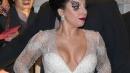 Lady Gaga, una dama in bianco super sexy