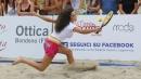 Raffaella Fico, regina del racchettone sulla spiaggia