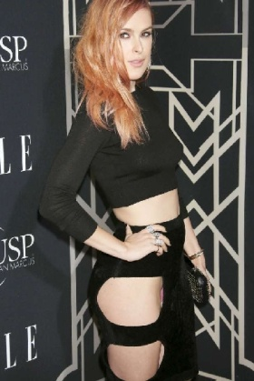Rumer Willis, oblò con slip in vista