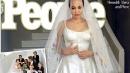 L'abito da sposa di Angelina Jolie