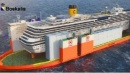 Concordia, ecco come verrà sollevata la nave