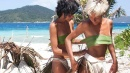 Isola dei Famosi, le Donatella raggiungono Brice a Playa Desnuda
