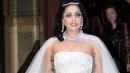 Lady Gaga, prove con l'abito da sposa