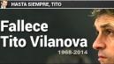 Vilanova: le reazioni del mondo del calcio