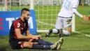 Genoa, si ferma Pavoletti Probabile stiramento