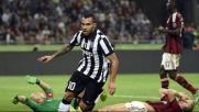 La Juve è troppo forte, un gol di Tevez affonda il Milan