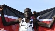 Kimetto, maratona da record: Due ore, due minuti e 57''