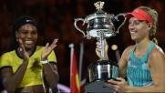 Serena Williams sconfittaKerber regina d'Australia
