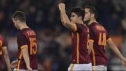 La Roma infila la terza: Sampdoria battuta 2-1, ma che brividi