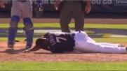 MLB, Liriano colpito al volto dalla pallina: è grave