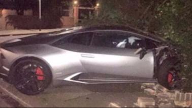 West Ham, Diafra Sakho distrugge la Lamborghini  Foto