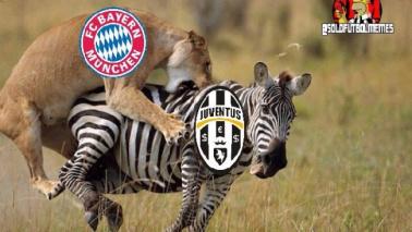 Rimonta Bayern, sfottò alla Juve I social si scatenano  Le foto