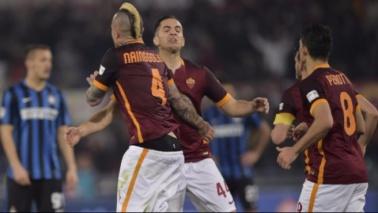 Nainggolan riacciuffa l'Inter: Perisic non basta a Mancini