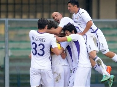 Gioia Fiorentina a Verona Cuadrado abbatte l'Hellas