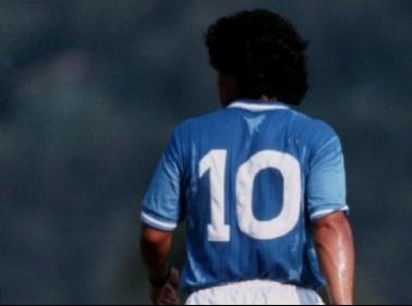 """Maradona blocca Insigne""""La mia 10 non si tocca"""""""