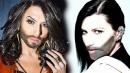Conchita Wurst, tutte con il suo look barbuto: dalla Pausini a Madonna
