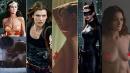 """Supereroine da grande schermo in versione """"nature"""": sotto la tutina... niente"""