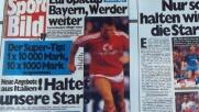 Quando noi eravamo i paperoni del calcio e i tedeschi ci...