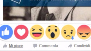 Rivoluzione Facebook: ecco le emoticon dei sentimenti