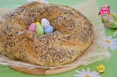 Treccia salata di Pasqua