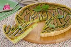 Quiche di asparagi e fave