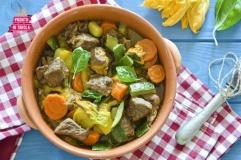 Spezzatino con verdure estive