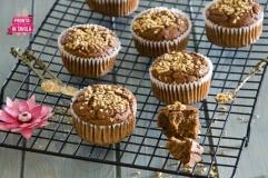 Muffin di ceci al cacao