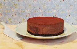 I dolci di Alice: torta meringata al cioccolato